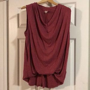Anthropologie kemi and Kin tank blouse sz large